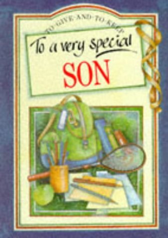 9781850154242: To a Very Special Son (To Give and to Keep)