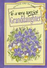 9781850154372: To a Very Special Granddaughter (To-Give-and-to-Keep)