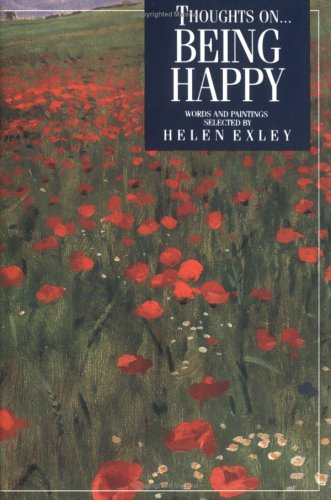 9781850156468: Thoughts on Being Happy (Inspirational Giftbooks)