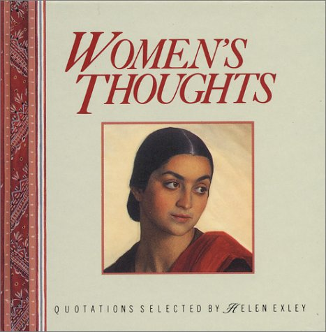 9781850157939: Women's Thoughts: Quotations Selected by Helen Exley (Mini Square Books)