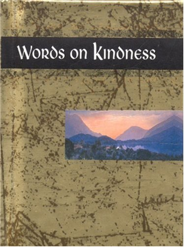 9781850159230: Words on Kindness (Words for Life)