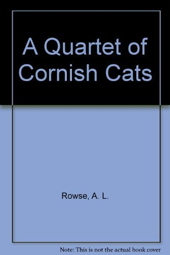A Quartet of Cornish Cats (9781850221340) by Alfred Lestie Rowe