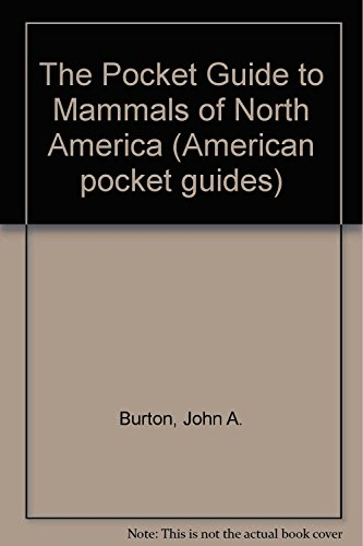 9781850281221: The Pocket Guide to Mammals of North America (American pocket guides)