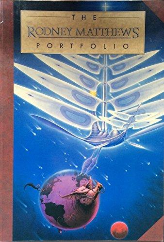 9781850281375: The Rodney Matthews Portfolio (The portfolio collection)