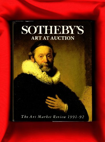 9781850294467: Sotheby's Art at Auction 1991-92: 1991-92
