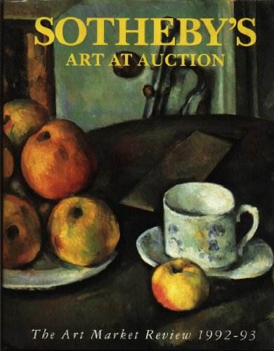 SOTHEBY'S ART AT AUCTION 92/93: the Art: Sotheby's