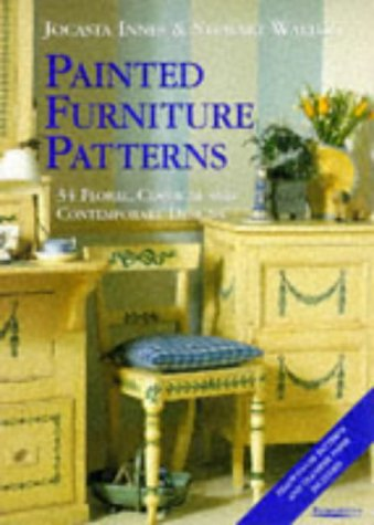 9781850299011: Painted Furniture Patterns: 34 Floral, Classical and Contemporary Designs (Paintability)