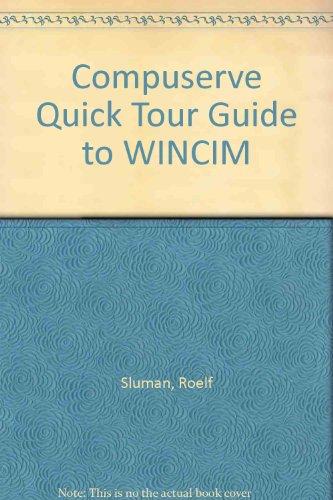 9781850321538: Compuserve Quick Tour Guide to Wincim