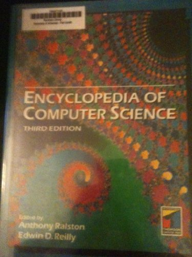 9781850328001: Encyclopedia of Computer Science