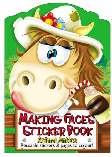 9781850384502: Making Faces Sticker Books: