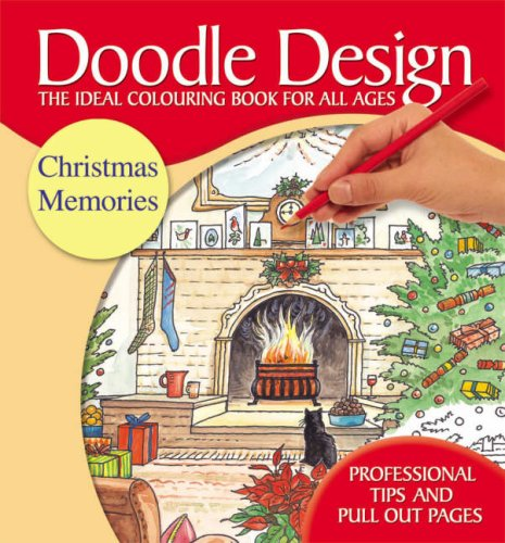 9781850385424: Christmas Memories Doodle Design: AND Festive Christmas Doodle Design