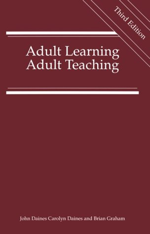 9781850410706: Adult Learning, Adult Teaching