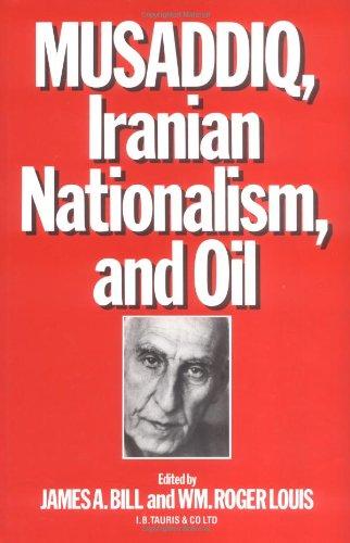 9781850430728: MUSADDIQ, IRANIAN NATIONALISM AND OIL.