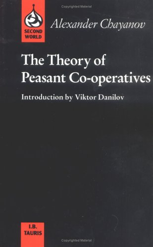 9781850431893: The Theory of Peasant Cooperatives (Second World)