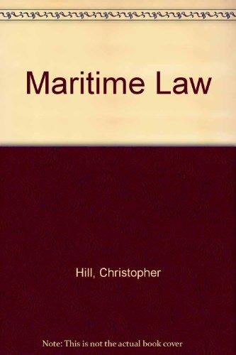 9781850440451: Maritime Law