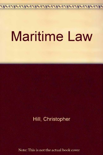9781850440451: Maritime Law