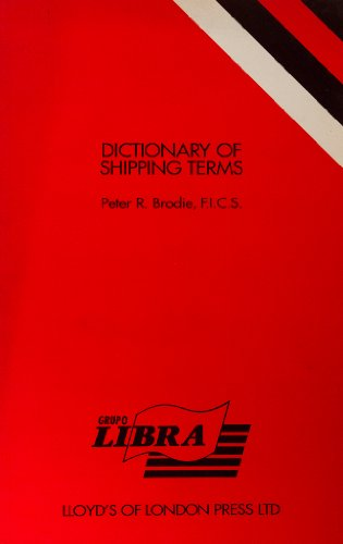 9781850440697: Dictionary of Shipping Terms