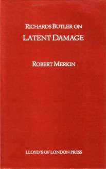 Richards Butler on Latent Damage (1850441286) by Robert Merkin