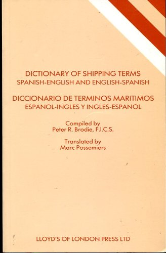 9781850441533: Dictionary of Shipping Terms Spanish-English