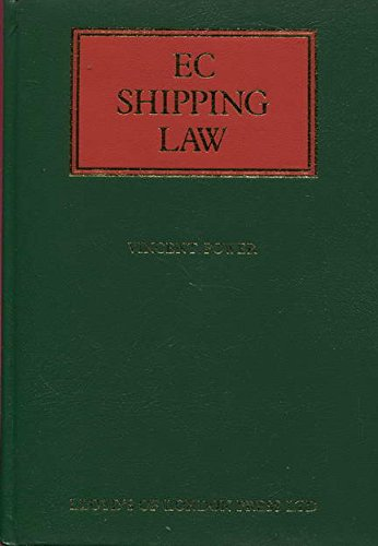 9781850443124: EC Shipping Law (Lloyd's Shipping Law Library)