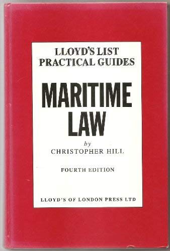 9781850448884: Maritime Law (Lloyd's List Practical Guides)