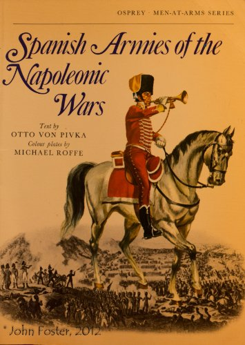 9781850452430: Spanish Armies of the Napoleonic Wars (Osprey Men-At-Arms Series)
