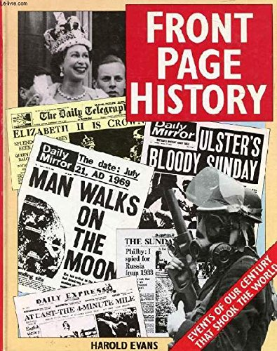 9781850512363: Front Page History