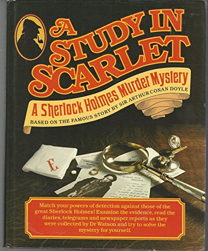 Read A Study in Scarlet Book Online by Arthur Conan Doyle ...