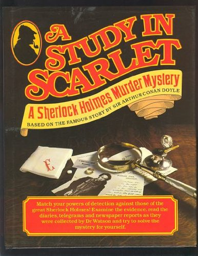 9781850520450: A Study In Scarlet: A Sherlock Holmes Murder Mystery Based on the Famous Story by Sir Arthur Conan Doyle