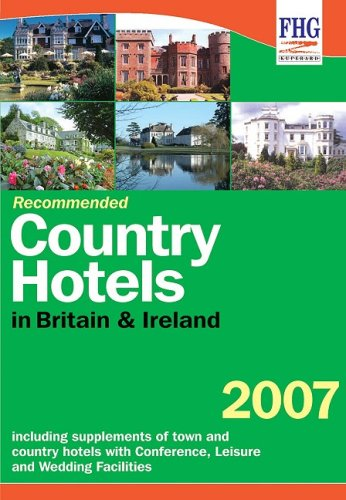 9781850553854: Recommended Country Hotels of Britain
