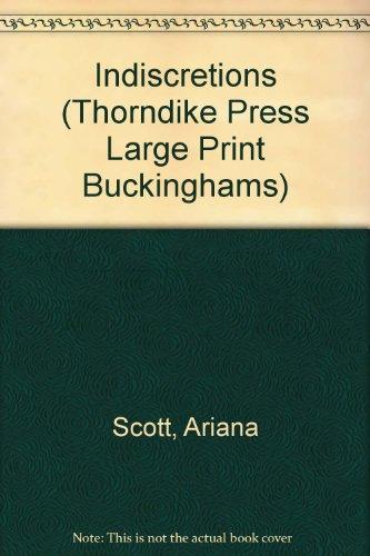 9781850570844: Indiscretions (Thorndike Large Print General Series)