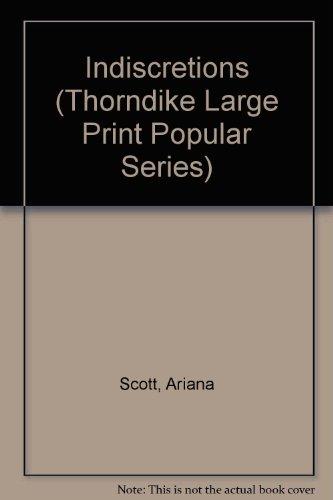 9781850570851: Indiscretions (Thorndike Large Print Popular Series)