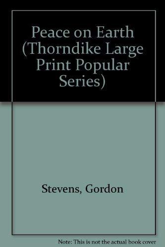 9781850576013: Peace on Earth (Thorndike Large Print Popular Series)