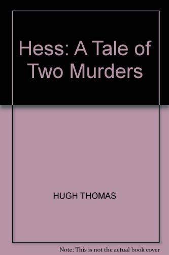 9781850577898: Hess: A Tale of Two Murders