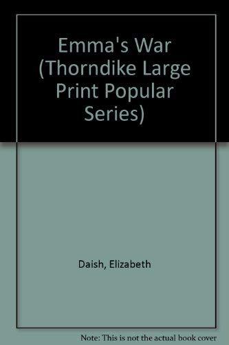 9781850579519: Emma's War (Thorndike Large Print Popular Series)
