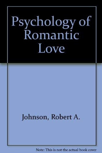 9781850630777: Psychology of Romantic Love