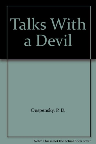 9781850630968: Talks with a Devil