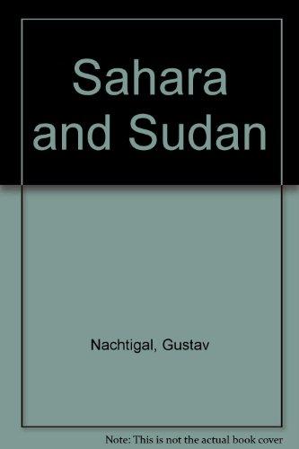 9781850650041: Sahara and Sudan
