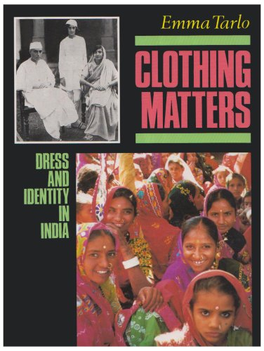 9781850651765: Clothing Matters: Dress and Identity in India