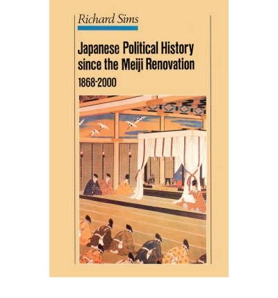 9781850654520: Japanese Political History Since the Meiji Restoration, 1868-2000