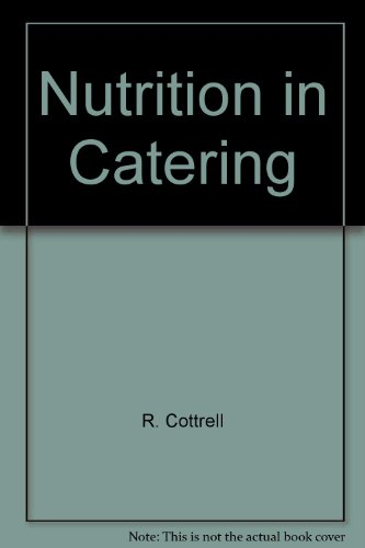 9781850701231: Nutrition in Catering
