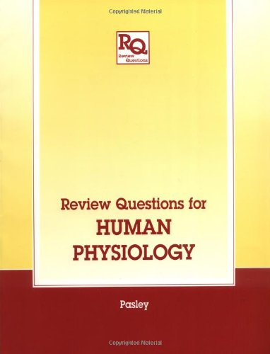 9781850706014: Review Questions for Human Physiology (Review Questions Series)