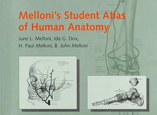 9781850707707: Melloni's Student Atlas of Human Anatomy