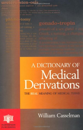 9781850707714: Dictionary of Medical Derivations: The Real Meaning of Medical Terms