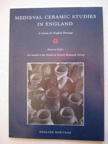 9781850744832: Medieval Ceramic Studies in England