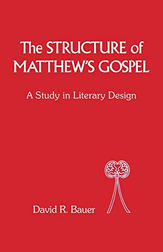 9781850751045: The Structure of Matthew's Gospel: A Study in Literary Design (The Library of New Testament Studies)