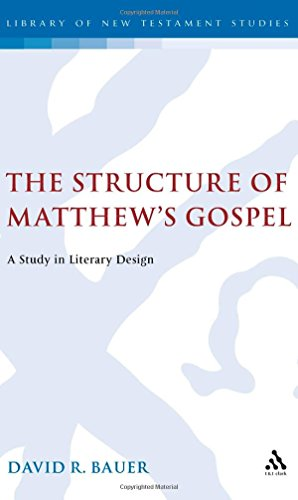 9781850751052: Structure of Matthews Gospel: A Study in Literary Design (Bible and Literature Series)