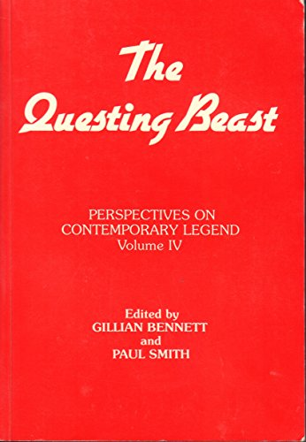 9781850751205: Perspectives on Contemporary Legend: The Questing Beast v. 4