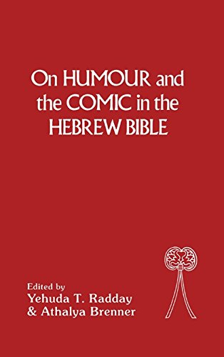 9781850752417: On Humour and the Comic in the Hebrew