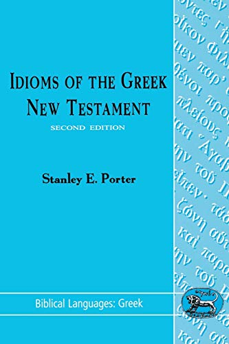 9781850753797: Idioms of the Greek New Testament (Biblical Languages: Greek)
